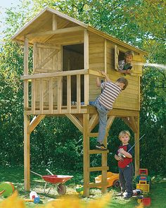 Speelhuisjes - Speelgoed - GroenRijk de Wilskracht