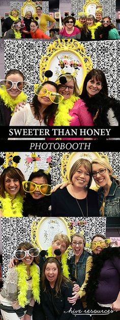 Sweeter Than Honey Photobooth Ideas {Hive Resources} #womensministry #discipleship #Ps19