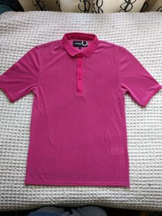 Raf Simons Pink Polo Size S $200 - Grailed