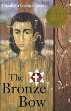 TThe Bronze Bow by Elizabeth George Speare . Winner of the Newbery Medal for excellence in American children's literature in Excellent. Historical novel set in the time of Jesus. I Love Books, Great Books, My Books, American Literature, Children's Literature, Ancient Rome, Ancient History, Witch Of Blackbird Pond, Newbery Medal