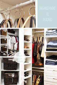 para organizar el closet