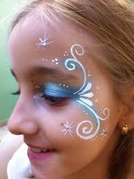 Bildergebnis für simple frozen face paint