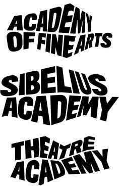 University of the Arts Logo and Identity, Bond