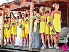 simplemente amarillos.