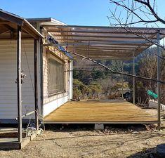 둑스(DUX) Pergola, Deck, Outdoor Structures, House Design, Building, Outdoor Decor, Home Decor, Storage, Purse Storage