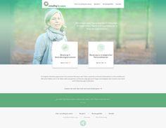 Website Launch und Erstellung Corporate Design für consulting by nature