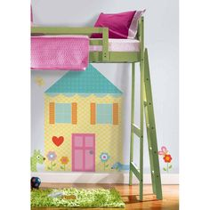 #oBedding - #York Wallcoverings Build-A-House Wall Accent Kit - Playhouse Wall Decor Mural - AdoreWe.com