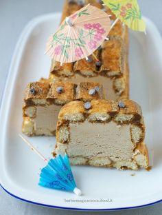 mattonella gelato al caffè con savoiardi (senza gelatiera)