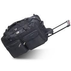 8470d8adabed Stylish 22-Inch Wheeled Duffel Affordable. Easy-Roll Emergency Duffel Bag  with LED Safety Signal ...
