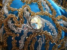 Naima's Bellydance Blog: Beading Tutorial: Rope Sandwiches