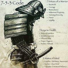 Love this kinda stuff. #bjj #jiujitsu #jiujitsulifestyle #samurai #ronin #warriorcode