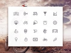 The Sporties icon set includes 20 free sports icons created with vector shapes and provided as AI PSD Sketch SVG and PNG. Freebie released by Creativedash. Vector Shapes, Vector Icons, Vector Free, Photoshop, Sport Icon, Web Design Inspiration, Design Ideas, Daily Inspiration, Buttons