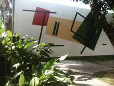 Mural de Mateo Manaure Ciudad Universitaria #UCV