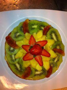 E a richiesta una buona #torta alla #frutta ... #Restaurant #Rome #cake