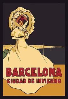 Barcelona, Ciudad de Invierno by Simon - Art Print  #9785870172873 #Buyenlarge #Catalonia #New #Spain