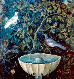 #Pompeii  --  Garden Fresco
