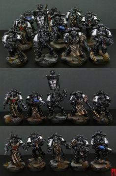 Black Templar's squad