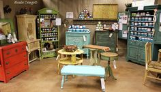 Shizzle Design painted furniture Authorized Retailer CeCe Caldwell's Paints and American Paint Company chalk and clay Not So Shabby 2975 West Shore Drive Holland, Michigan 49424 colors ideas