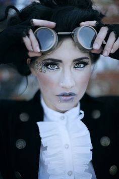 Steampunk Fashion: Steampunk Makeup Guide - The Steampunk Empire