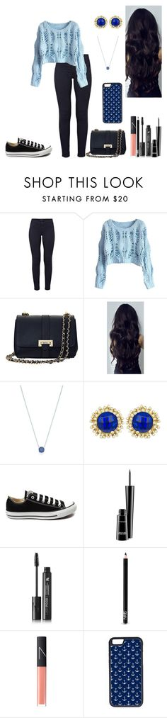 """Sem título #456"" by karen-biarmatos on Polyvore featuring moda, J Brand, Aspinal of London, Tiffany & Co., Kendra Scott, Converse, MAC Cosmetics, LashFood, NARS Cosmetics e CellPowerCases"
