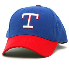 Texas Rangers 1972-85 Home Cooperstown Fitted Cap