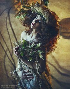 Nazarova Valia. Model Zarina Butrym