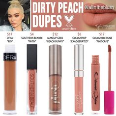 (@allintheblush) on Instagram: DIRTY PEACH RE-DUPES