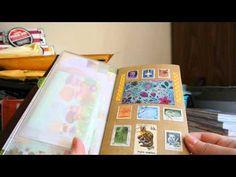 How I am Using my Midori Traveler's Notebook!!! - YouTube