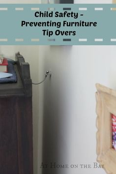 Preventing Furniture and TV Tip-Overs