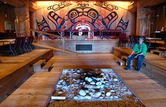 King Pacific Lodge has a strong partnership with the Gitga'at First Nation community of Hartley Bay. Cultural tours are available for guests of the lodge.