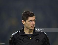 Dienstag , Fussball Champions League Saison 13/14 in Dortmund, BV Borussia Dortmund - SSC Naploi, Robert Lewandowski (BVB).