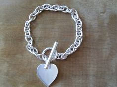 Sterling silver link bracelet/925 bracelet/925 by NikkiHillsDesign
