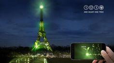 maplantemonbonheur.fr conférence,climat, arbre, tour Eiffel , planète, Naziha Mestaoui, artiste, vert