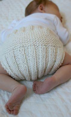 Ruční pletení: 8 nápadů na parádní pletené baby kalhotky