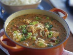 Rezept: Shrimpseintopf mit  Kokosmilch auf Brasilianische Art