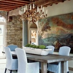 Interior Stone Wall Design, Pictures, Remodel, Decor and Ideas - page 5