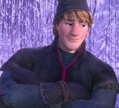 I don't know about you, but he's my favorite Disney prince now.. #Frozen #Kristoff so attractive O.O