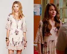 Free People Dream Cloud Print Dress - $148.00 Worn with: JanSport backpack