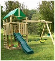 Wooden Toy Fort Plans