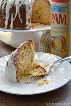 Eggnog Bundt Cake (+ a Giveaway!)