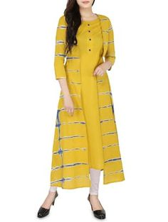 Check out what I found on the LimeRoad Shopping App! You'll love the mustard cotton layered kurta. See it here http://www.limeroad.com/products/14547343?utm_source=6c79537446&utm_medium=android