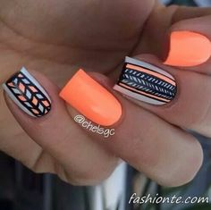 70 Best Nail Art Design For New Year's 2016   Fashionte
