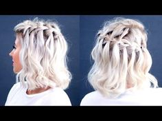 Trança cascata em cabelo curto: passo a passo em vídeo para conseguir fazer sozinha - Vix