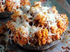 Gojee - Pasta Stuffed Portobello by Kitchen Trial & Error