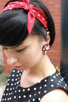 dress Mohito, earrings Apple Tree Boutique,