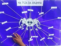 🎈Leitura na teia🎈 Atividade lúdica para estimular a leitura das crianças. A cada palavra lida corretamente uma teia da aranha é cortada. .… Portuguese Lessons, Literacy, Children, Kids, Classroom, Lol, Reading, Travel, Instagram