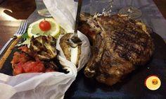 Steak House Cutelli. Via Porta di Ferro, Catania.
