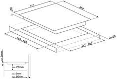 Kogeplade PM6621WLDX - Smeg   Smeg NO