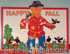 little illuminations: Fabulous Fall Bulletin Boards