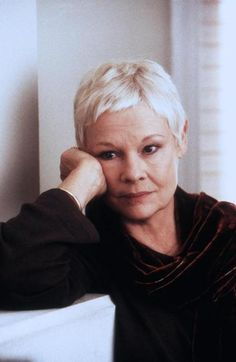 """Judi Dench.  Saw her in """"Best Exotic Marigold Hotel"""" and she was radiant! Her performances are never forced. She pulls you into her."""